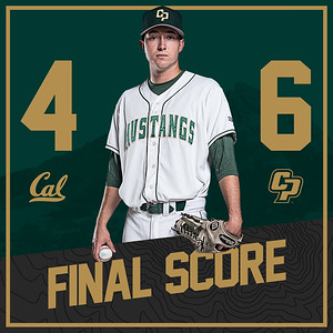 INSTAGRAM SCORE GRAPHIC, Cal Poly Baseball