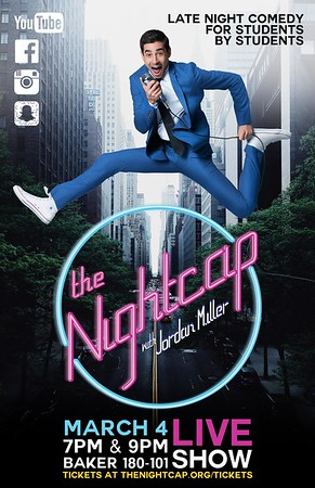 PRINT POSTER, The Nightcap with Jordan Miller