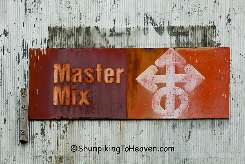 Master Mix Sign, Garrard Mills, Lancaster, Kentucky