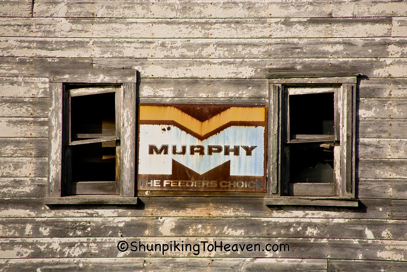 Murphy Feeders Choice Sign, Sauk County, Wisconsin