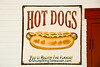 Hot Dog Advertising Sign, Grand Traverse County, Michigan