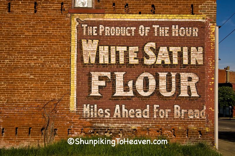 White Satin Four Sign, Guernsey County, Ohio