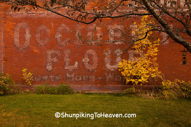Occident Flour Sign, Wisconsin