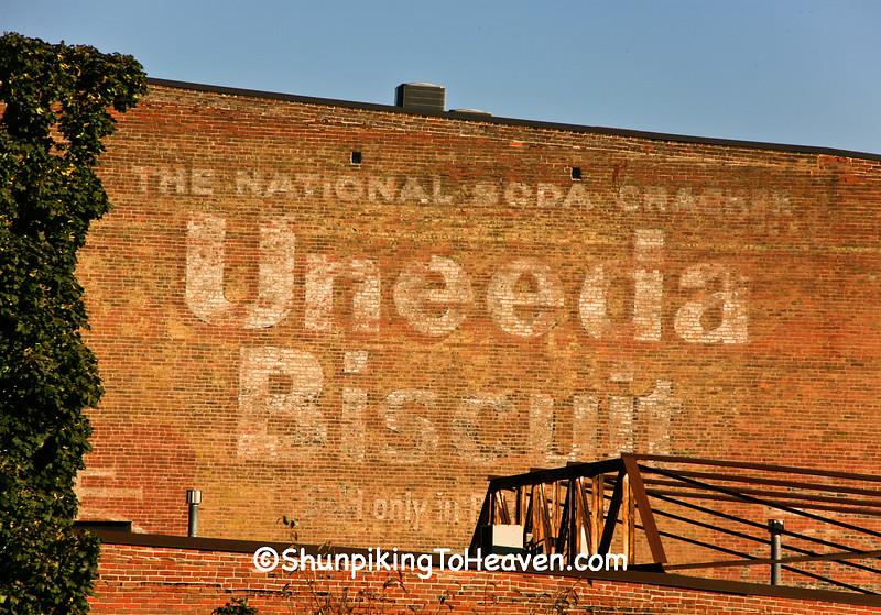 Uneeda Biscuit - The National Soda Cracker, Dubuque, Iowa