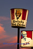 Old-Fashioned Kentucky Fried Chicken Bucket Sign, Poweshiek County, Iowa