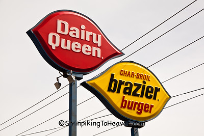 Dairy Queen Signs, Elwood, Indiana