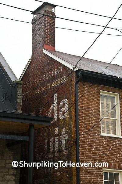 National Biscuit Company Uneeda Biscuit Sign, Lexington, Kentucky