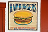Hamburger Advertising Sign, Grand Traverse County, Michigan