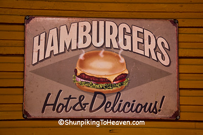 Hamburgers Sign, Coshocton County, Ohio