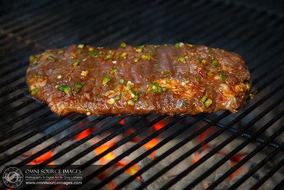 Thai Marinated Flank Steak - SIDE A