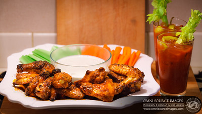 Hot Wings and Bloody Marys