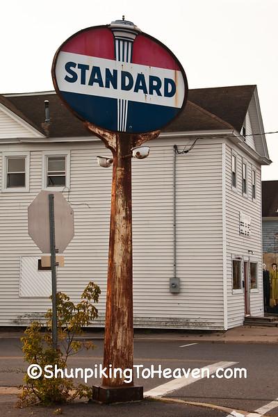 Standard Oil Sign, Ashland County, Wisconsin