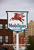 Antique Mobilgas Sign, Duluth, Minnesota