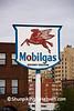 Antique Mobilgas Sign, Duluth, Minnesota