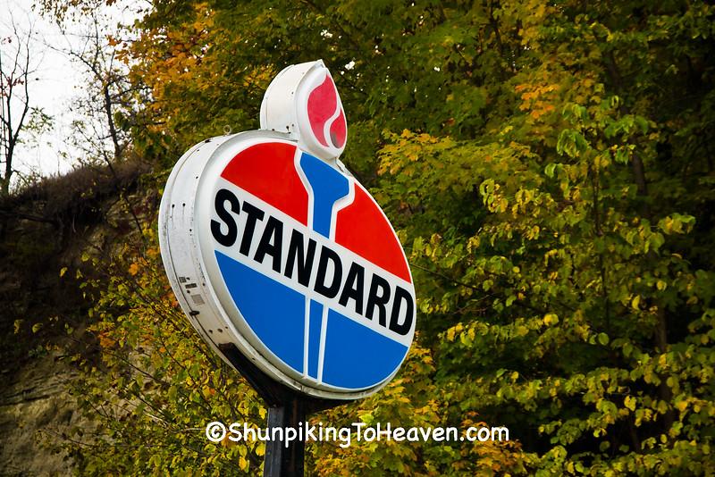Standard Oil Sign, Allamakee County, Iowa