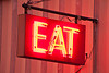 """""""EAT"""" Sign, Price County, Wisconsin"""