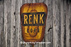 Renk Corn Sign, Columbia County, Wisconsin