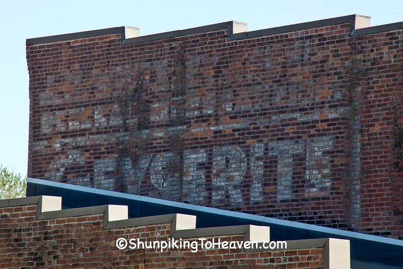 General Merchandise & Geyserite Soap Ghost Sign, Van Buren County, Iowa
