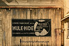Mule-Hide Roofing Sign, Monroe County, Wisconsin