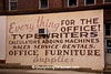 Old-fashioned Office Supply Sign, Zanesville, Ohio