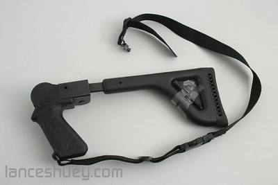 Thompson Contender Folding stock with strap and screw.