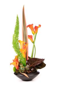 Floral arrangement created by Howard Arendtson of H. Julien Designs. http://www.hjuliendesigns.com