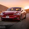 Tesla Model S Altamont Sunrise by Greg Linhares