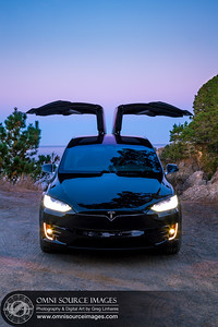 Tesla Model X 100D Pacific Sunrise