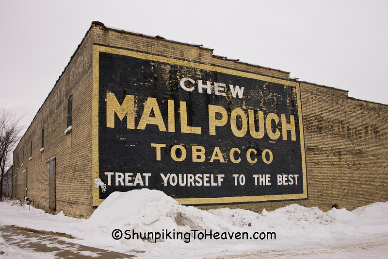 Mail Pouch Tobacco Sign, Rock County, Wisconsin
