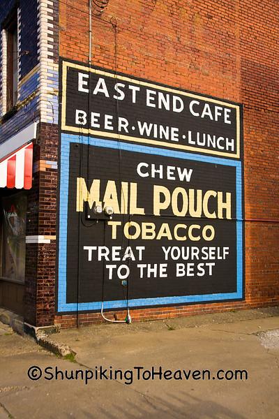 Mail Pouch Tobacco Sign, Zanesville, Ohio