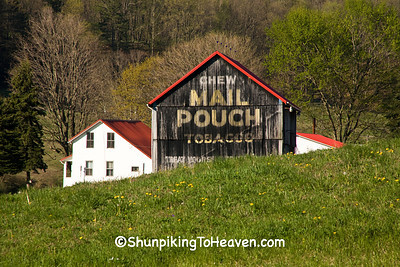 Mail Pouch Tobacco Barn, Muskingum County, Ohio