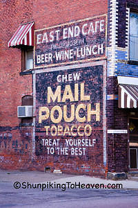 Mail Pouch Tobacco Sign, Zanesville, Ohio