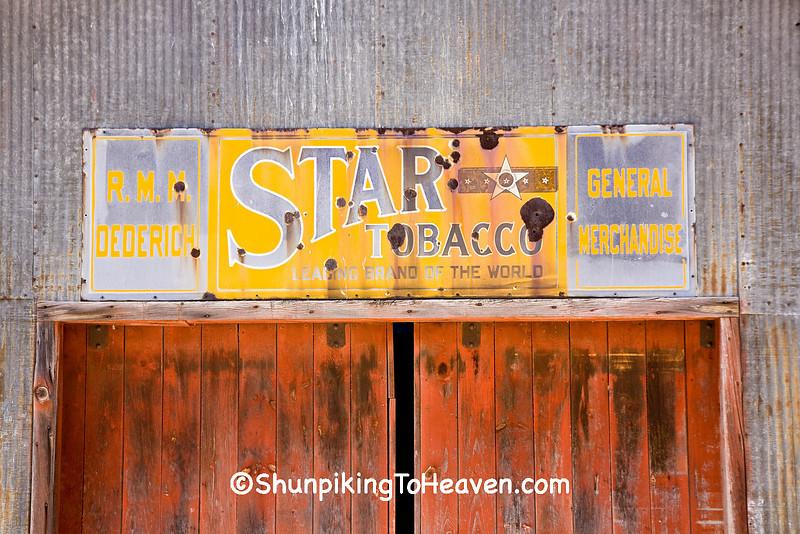 Star Tobacco Sign, Sauk County, Wisconsin