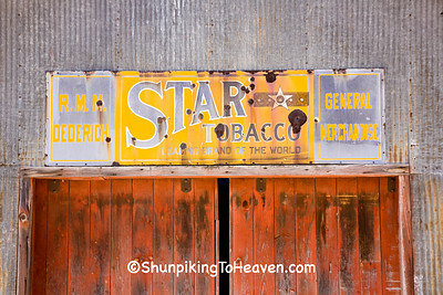 Star Tobacco Sign, Sauk County, Wisconsin