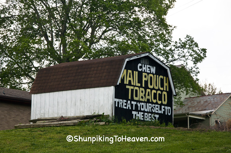 Mail Pouch Tobacco Sign, Perry County, Ohio