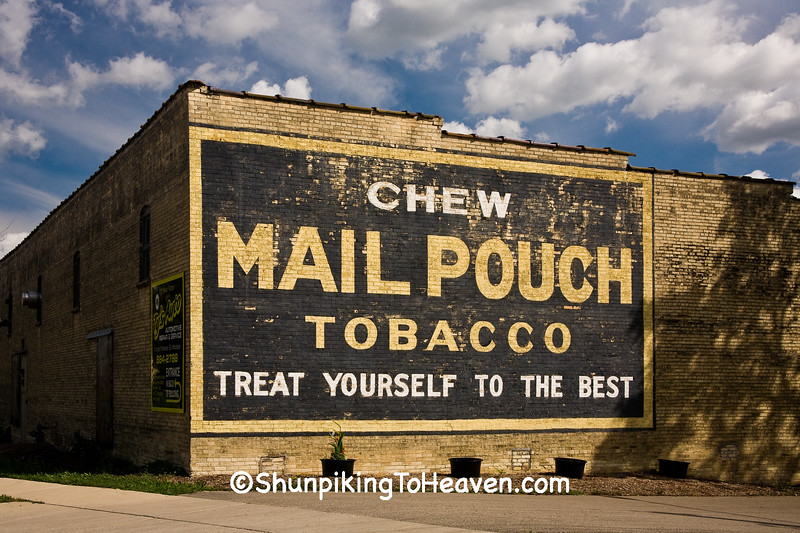 Mail Pouch Tobacco Sign, Edgerton, Wisconsin