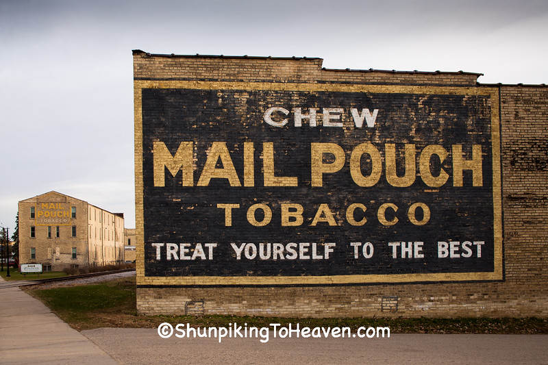 Mail Pouch Tobacco Signs, Edgerton, Wisconsin