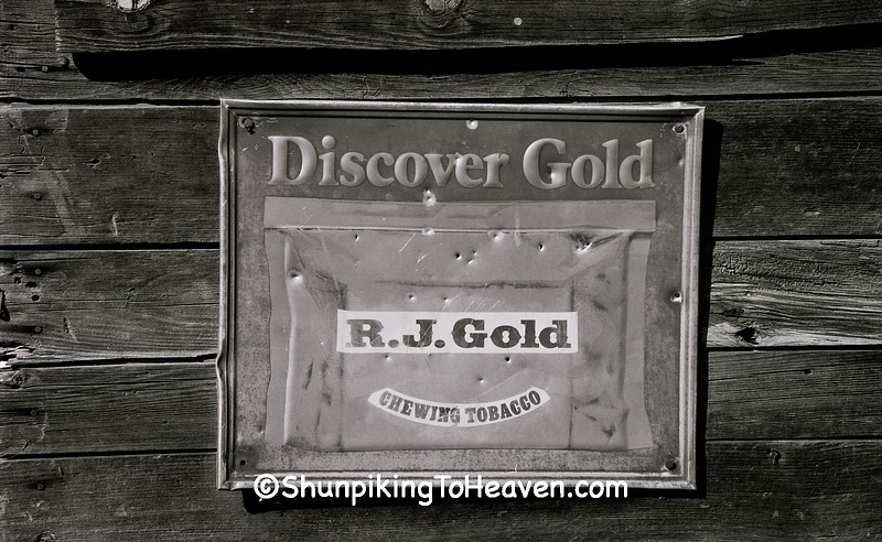 R.J. Gold Chewing Tobacco Sign, Boone County, Kentucky