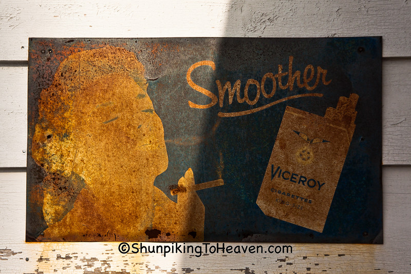 Viceroy Cigarettes Sign, Livingston County, Illinois