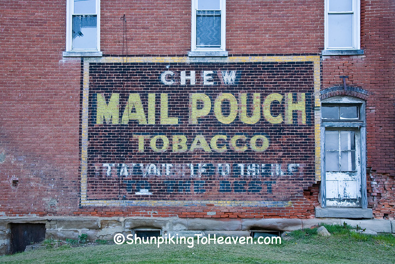 Mail Pouch Tobacco Sign, Muskingum County, Ohio