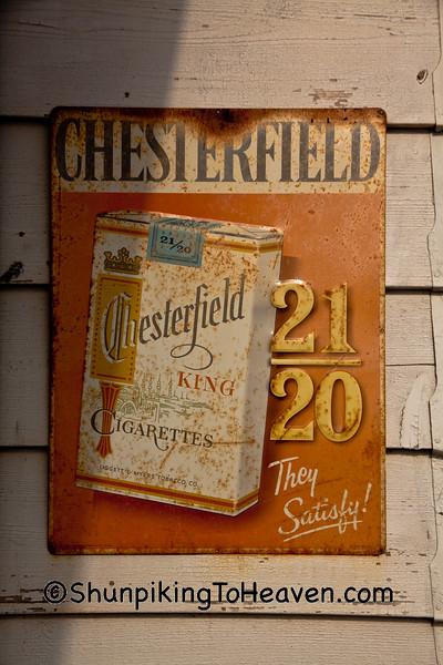 Chesterfield Cigarettes Sign, Livingston County, Illinois