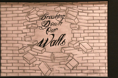 "Breaking Down Our Walls by Ronnie Aquinio Jr. AKA ""Goodwill""."