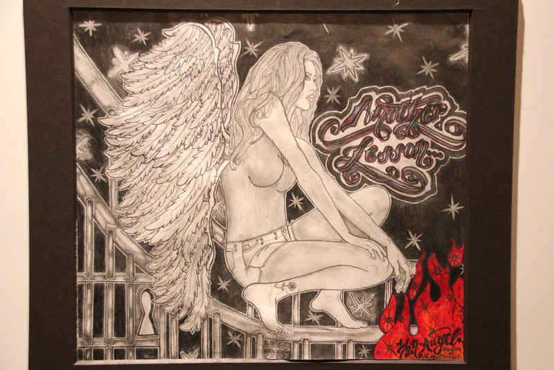 Angel - Another lesson by Sara Monteverde, San Francisco  County Jail 2