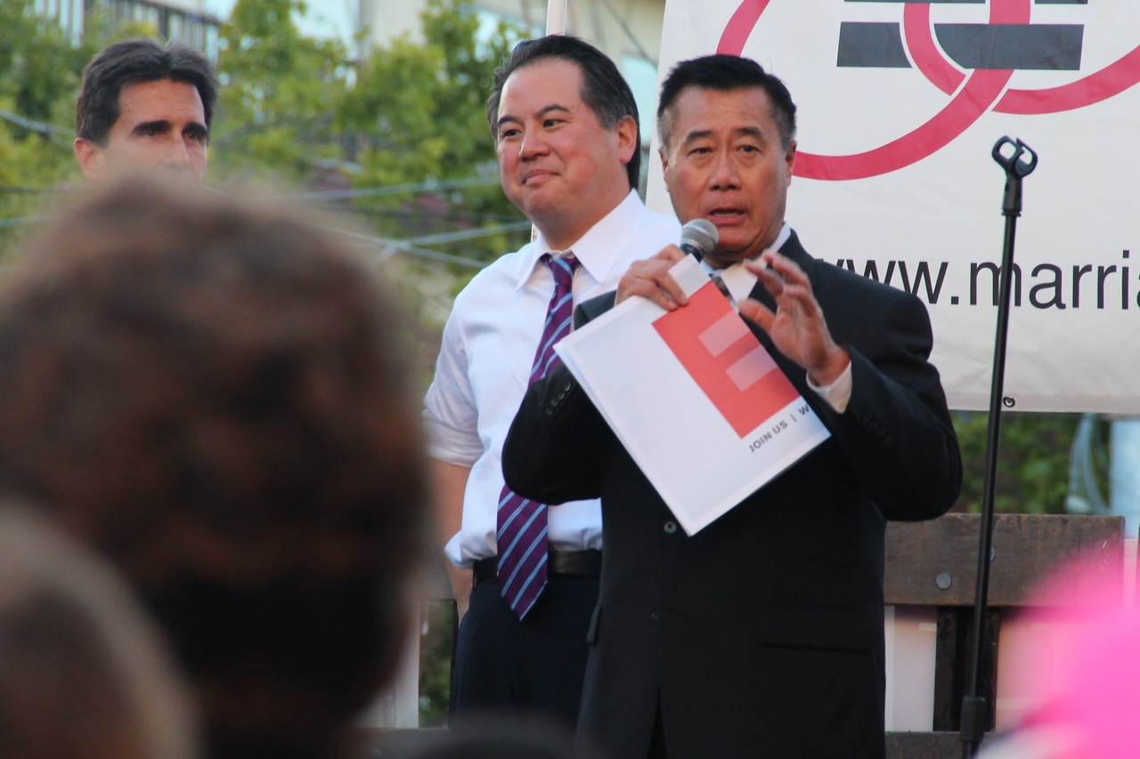 Center, State Assemblymember, Phil Ting. 