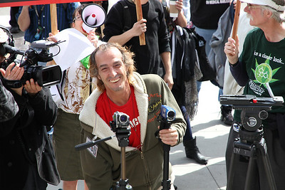 Tony De Renzo, film maker and medical cannabis rights activist.  For more, see:   http://www.sfcitywatch.com/