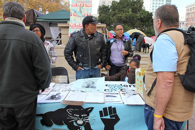 Black Panther party table. For more, see: http://en.wikipedia.org/wiki/Black_Panther_Party