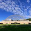 ASM International World Headquarters, Materials Park, Ohio, Architect, John Terrence Kelly, R. Buckminster Fuller