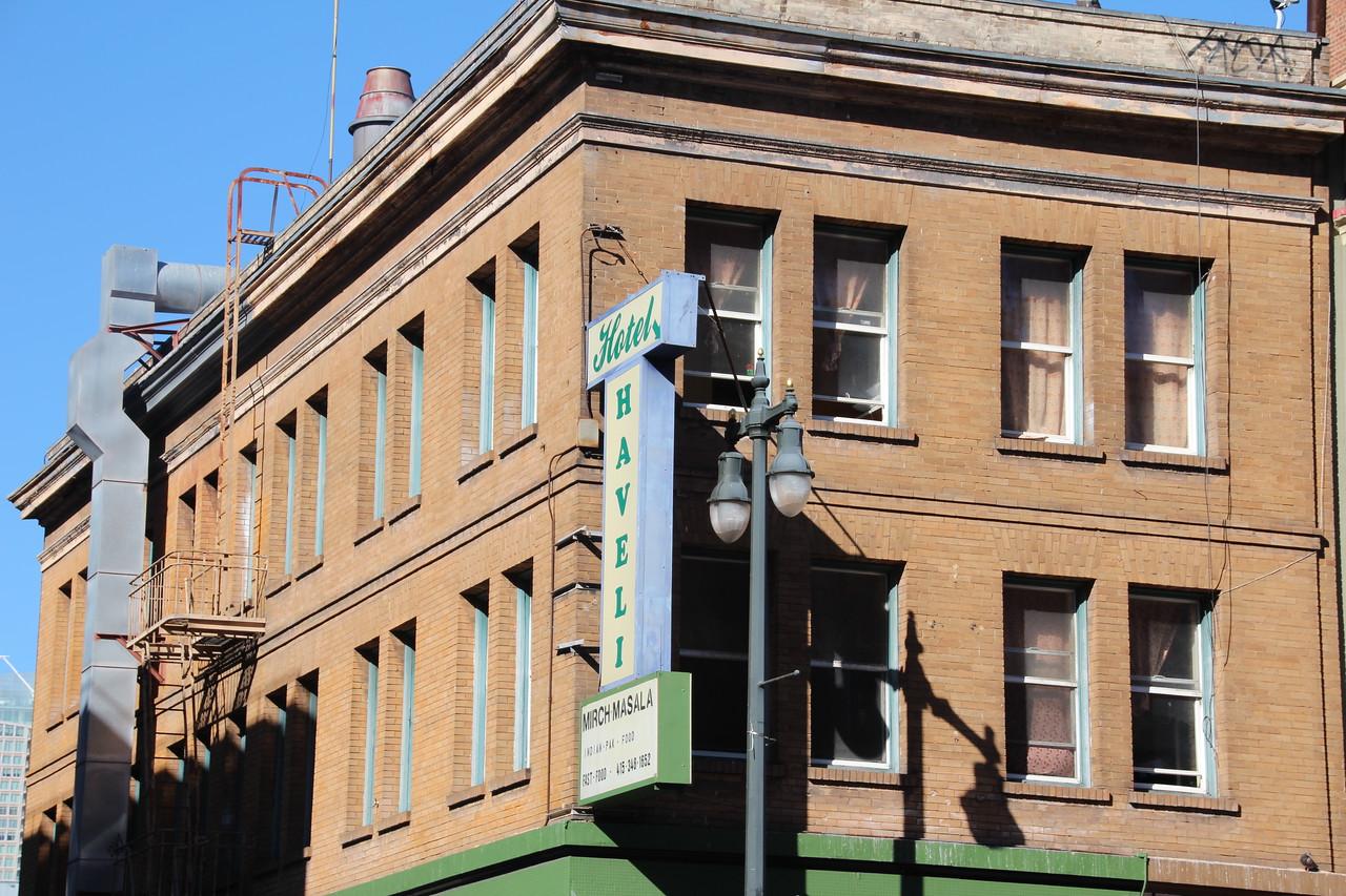 Sixth Street, about block South of Market Street, San Francisco.