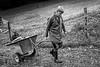 Familie Heinz und Andrea Horisberger, Grossrieden<br /> <br /> Heinz und Andrea Horisberger mit ihren Kindern Karin und Philipp. Grossrieden, seit 1912 im Besitz der Familie Horisberger, wird seit 1982 in 3. Generation von Heinz Horisberger bewirtschaftet. Zusammen mit seinem Bruder Fritz betreibt er auf 47 ha vor allem Milch- und Weidewirtschaft. Während im Winter alle Tiere auf dem Haupthof eingestallt werden, verbringt ein Grossteil der Kühe den Sommer in der Riedenhütte und auf deren Weiden. Hier wird zwar nicht mehr von Hand gemolken, eine Absauganlage oder gar einen Melchstand gibt es hier natürlich nicht. Daneben pflegt Heinz seit vielen Jahren als einer der wenigen Bauern im Thal die Saatzucht. Auf 786 m ü. M. werden jährlich 3 ha Triticale und 1 ha Gerste angebaut und mit mehr als 10 Bienenvölkern wird jährlich 60-100 kg Honig hergestellt. Auch Pferde findet man bei Horisbergers, früher zur Zucht, heute nur noch als Hobby. Seit je gehört eine gut besuchte Bergwirtschaft zum Grossrieden. Hier empfängt Andrea, früher eine passionierte Reiterin, mit ihren Helferinnen Wanderer, Ausflügler und Stammgäste © Patrick Lüthy/IMAGOpress.com / Text : Max Misteli