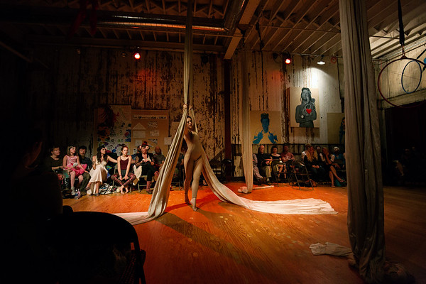 Events: Aerial Cabaret and Dance Party